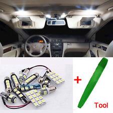 10Pcs Premium LED Bulbs Kit Interior White Error Free For Mercedes ML W163 ML