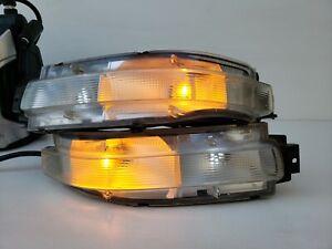 03 04 05 06 07 Nissan 350Z Rear Turn Signal Light Lamp Bumper Mounted Pair OEM