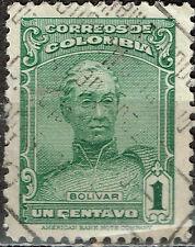Colombia Famous Political Leader Bolivar stamp 1921
