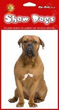 Dogue de Bordeaux (b) French Mastiff Turner Hooch Dog Double Sided Sticker