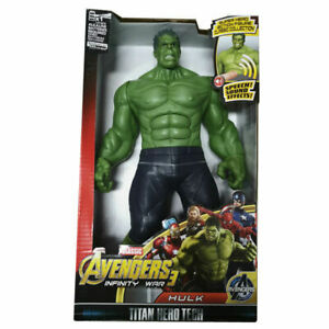 MARVEL HULK Avengers: Infinity War Titan Hero Power Hulk Figure Toy AU 30cm Tall