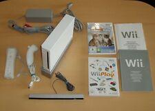 Nintendo Wii Konsole weiss Set + Spiel  und Zubehör Gamecube kompatibel