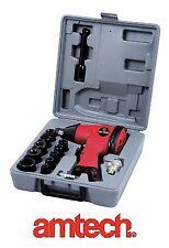 "17 PC 1/2"" Drive Air Impact Wrench Tool Socket Set Compressor Garage Body shop"