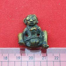 Rare Talisman Holy Erotic Antiques Thai Amulet Man Palad Kik LOVE Charm Lucky