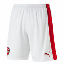 Puma Arsenal Home 2016 2017 Mens Shorts White Red Size SMALL R762-15
