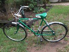 Vintage  Wards  Green 3 Speed Men's Bike 1970s Great Condition ready togo