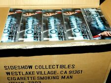 "SIDESHOW X-FILES CIGARETTE SMOKING MAN 12"" TV FIGURE NEW 12"" OUT OF CASE NEW"