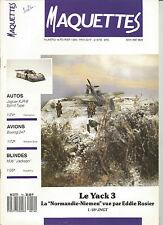 MAQUETTES N° 14 JAGUAR XJR-8 / BOEING 247 / M36 JAKSON / YACK 3 NORMANDIE NIEMEN