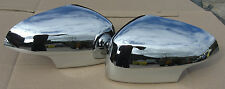 JAGUAR CHROME MIRROR COVERS FIT XF TO VIN R47153, MC3