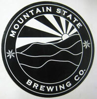 MOUNTAIN STATE BREWING Co., 4 inch Beer STICKER, LABEL, Thomas, WEST VIRGINIA