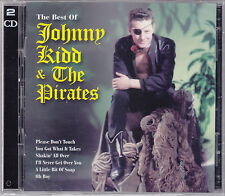 Johnny Kidd & Pirates -Best of-56 Original Titel, 60erJahre UK Beat,D'CD Neuware