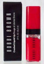 Bobbi Brown Crushed Liquid Lip Gloss * Big Apple * Red Travel Size Nib Authentic