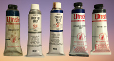 "🔥LOT OF ""5"" VINTAGE Mixed Artists Oil Color **NEW**🔥"