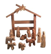 """Hand-crafted Olive Wood THE LAST SUPPER, 11.75 x 4 x 3.75"""" by Holy Land Imports"""