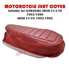 MOTORCYCLE SEAT COVER fits AR50 C1-C10 1983-98 AR80 C1-C8 1983-92 RED
