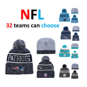 NFL FOOTBALL WARM WOOL LOGO HAT (NEW)