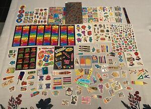 Vintage 80's Teacher Sticker TOOTS Teenie Weenie? Sandylion Rainbow Prism Crayon