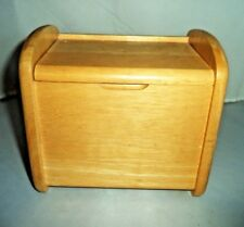 """Kitchen Collection Beechwood Recipe Box (For 3"""" by 5"""" Index Cards) Clean, Classy"""