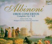 STEFAN/MATT,NICOL/SGKO SCHILLI - COMPLETE OBOE CONCERTOS OP.7 & 9 3 CD NEW+