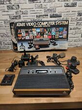 ATARI CX - 2600 VIDEO GAME CONSOLE VINTAGE GAMING BOXED SET