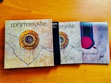 WHITESNAKE  - JAPAN 3 Mini Sleeves (SHM-CD + PROMO BOX SET W/ OBI) Deep Purple