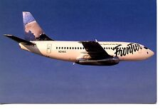Goat Wildlife Frontier Airlines Airplane-B737-200 Jet-1994 Advertising Postcard