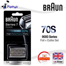 véritable BRAUN 70S 9000 Séries Pièce de rechange Feuille + Coupeur Set Cassette