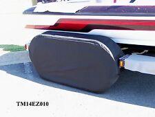Triton/Skeeter: Boat trailer fender/tire strg covers exact fit tandem metal fndr