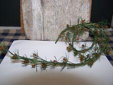 Mini Fir Pine Garland With Pine Cones 2 Feet Long Christmas Craft Supply
