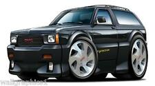 1992-1993 GMC Typhoon 4.3 Vortec Truck Turbo Vintage Wall Graphic Decal Sticker