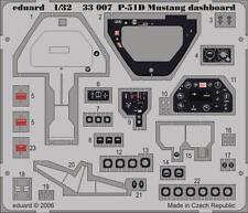 Eduard Zoom 33007 1/32 Hasegawa North-American P-51D Mustang instrument panel