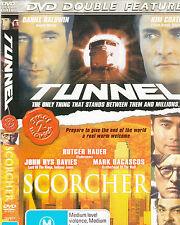 Tunnel-2002-Daniel Baldwin/Scorcher-2002-Rutger Hauer-Movie-DVD