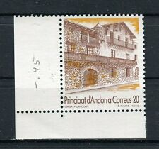 Andorra Spagnola 1990 Turistica MNH