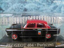 1/43 Magazine Series Altaya Peugeot 404 Paris  1962