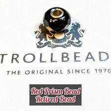 TROLLBEADS RED PRISM BEAD! RETIRED BEAD!