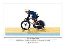 Laura Trott, Omnium ganador, Rio Juegos Olímpicos 2016 Edición Limitada Impresión A3 Tamaño
