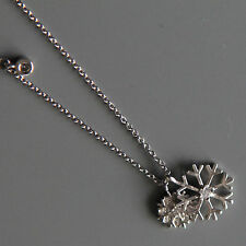 Sterling silver Snowflake Necklace by Lepos Jewellery