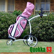 2017 Quokka S3 lithium battery electric motorised golf buggy trolley cart