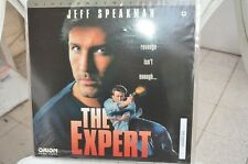 THE EXPERT with Jeff Speakman sold with a plastic protect - LaserDisc FREE POST