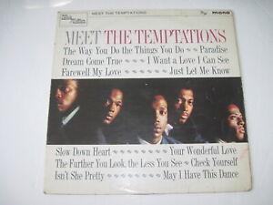 The Temptations - Meet the Temptations UK Mono 1965 Tamla Motown TML11009 VG-/VG