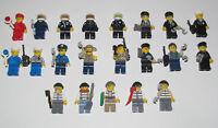 Lego ® Minifigure Figurine City Chantier Bricoleur Ouvrier Choose Minifig