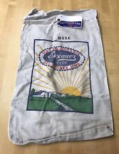 RARE GEO. P. SEXAUER & SON SEED BAG DES MOINES, IOWA WITH TAG