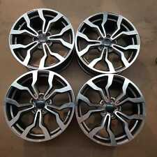 Set of 4 Audi Style Alloy Wheels 18x8 5x112 R8 GMF | Light corrosion/Fitted/Used