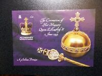GB Alderney 2003 Commemorative Stamps~50th Coronation M/S~Very Fine Used Set~UK