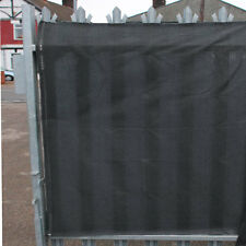 98% Shade Netting Grey for Privacy Screening Windbreak Fence 1m per METRE length