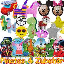 Pinata zum Befüllen - Über 70 Motive - Kinder Geburtstag Party Spiel - MIT VIDEO