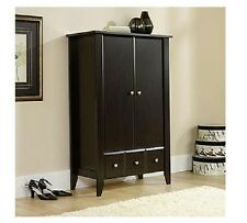 Wardrobe Storage Clothes Closet Cabinet Dresser Drawers Wood Bedroom Armoires