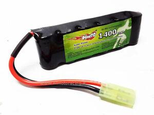 Batería Recargable 1400MAH 7,2V Nimh Ataque Micro Tamiya Modelos RC HIMOTO
