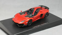 Autoart Lamborghini Aventador J Roadster in Red Metallic 2012 54651 1/43 NEW