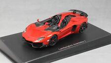 Autoart Lamborghini Aventador J Roadster in Red Metallic 2012 54651 1/43 NEW
